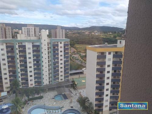 Apartamento Com 1 Dormitório À Venda, 27 M² Por R$ 200.000,00 - Bandeirantes - Caldas Novas/go - Ap0443