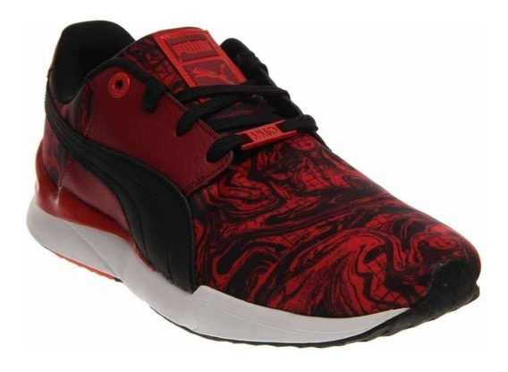 Puma Future Trinomic Swift Marble Lx Red 42 Frete Gratis