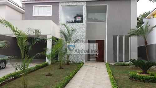 Casa À Venda, 400 M² Por R$ 1.950.000,00 - Residencial Doze (alphaville) - Santana De Parnaíba/sp - Ca0891