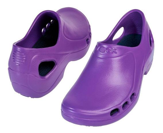Wock Everlite Abierto Zapato Profesional Ligero Cómodo Mujer