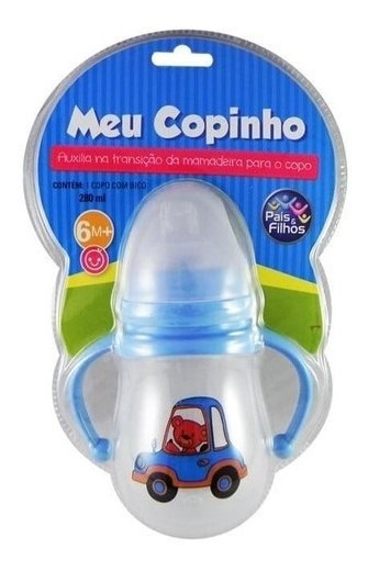 Meu Copinho 280 Ml Azul 7828 - Pais & Filhos