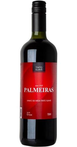 Vinho Tinto Suave Isabel/bordô 750ml - Palmeiras