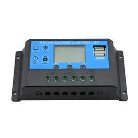Controlador Carga Solar 30a 12v 24v Pwm