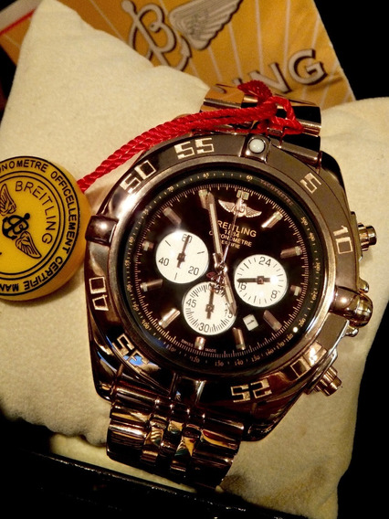 Relógio Cronometre Certifie Brt Único E Exclusivo
