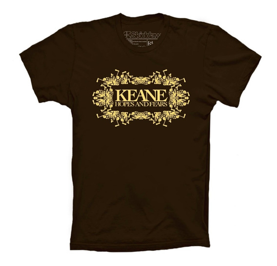 Keane Playeras Hopes And Fears Logo Skiddaw T-shirts