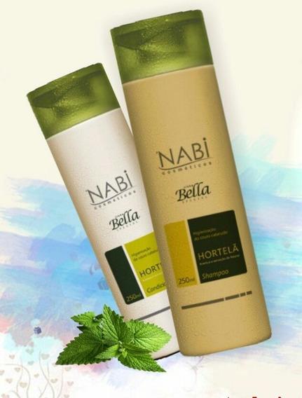 Shampoo E Condicionador Hortelã Nabi Cosméticos®