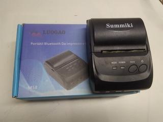 Mini Impressora Bluetooth Summiki Para Celular