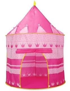 Carpa Castillo Para Niñas Y Niños Rosada
