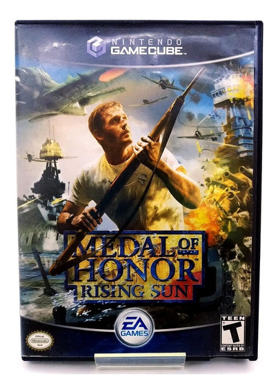 Medal Of Honor Rising Sun Game Cube Física Pronta Entrega