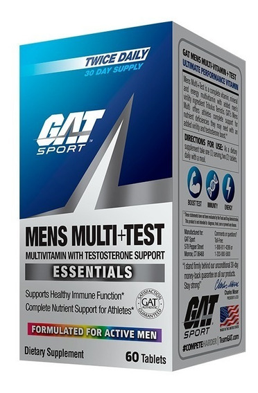 Multivitaminico Gat Mens Multi Test 60 Tabs