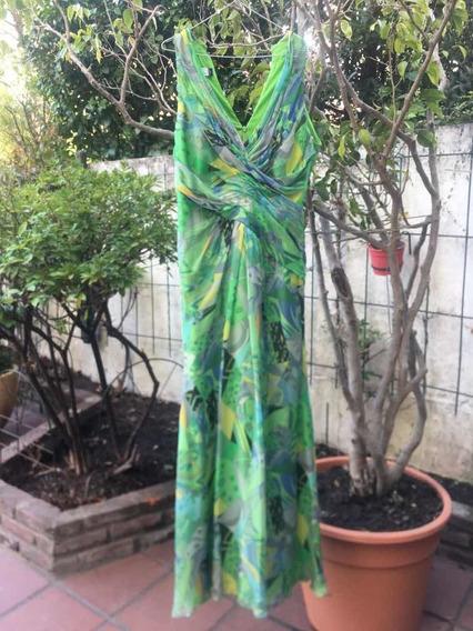 Vestido De Gaza. emilio Pucci By Rex Aute Couture. Usa.