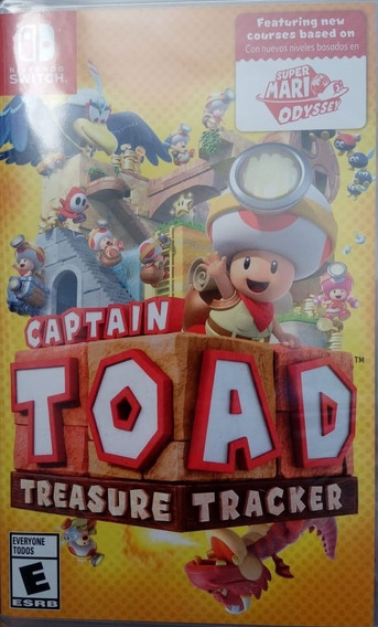 Captain Toad Treasure Tracker Nintendo Switch Lacrado