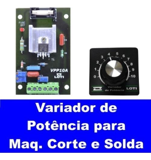 Variador De Potencia Vpp10a 2000w 260vac C/fusivel
