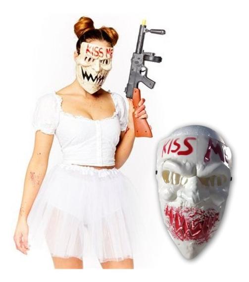 Máscara La Purga Kiss Me The Purge Disfraz Halloween