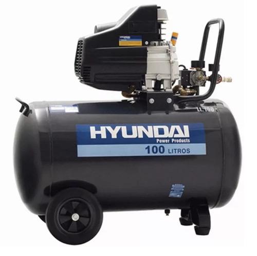Compresor Hyundai 100lts 3hp Monofasico 1 Año Garantia !!!