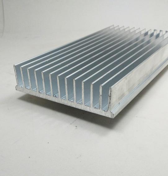 Dissipador Calor Aluminio 10,4cm Largura C/ 15cm Di104
