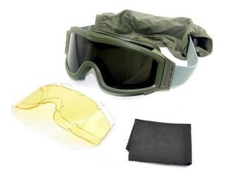 Goggles Tacticos Polarizado Airsoft Paintball Militar