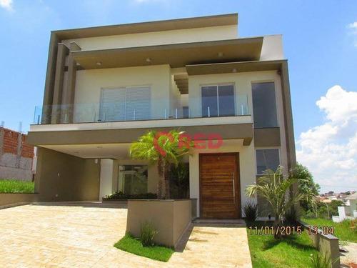 Sobrado Com 3 Dormitórios À Venda, 284 M² Por R$ 1.250.000,00 - Condomínio Golden Park Residence - Sorocaba/sp - So0357