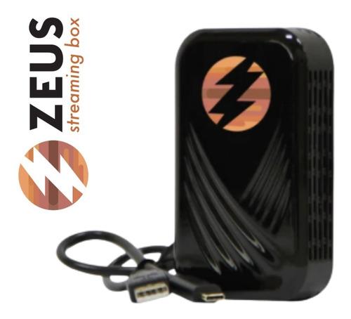 Imagem 1 de 1 de Streaming Box Zeus Zz2 Android Bluetooth Espelhamento