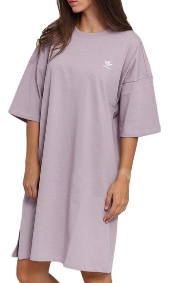 Vestido adidas Originals Moda Trefoil Dress Mujer Li