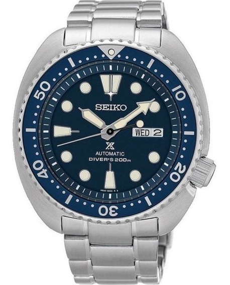 Relógio Seiko Srp773 Prospex Turtle Diver Automatico Azul