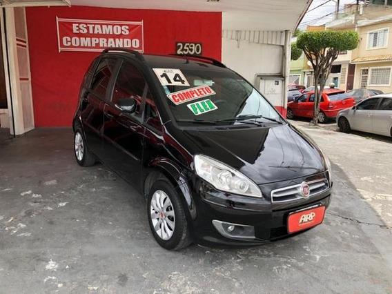 Fiat Idea Attractive 1.4 Completa Preta 2014