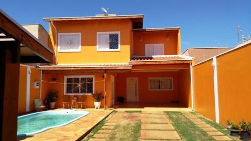 Imagem 1 de 15 de Casa Para Venda Em Araras, Jardim Nova Rosana, 3 Dormitórios, 1 Suíte, 3 Banheiros, 7 Vagas - V-160_2-611670