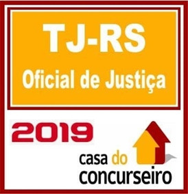 Tj Rs - Oficial De Justiça- 2019