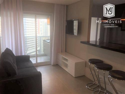 Imagem 1 de 21 de Studio Com 1 Dormitório Para Alugar, 49 M² Por R$ 3.900,00/mês - Brooklin - São Paulo/sp - St0010