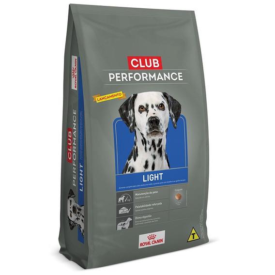 Ração Royal Canin Club Performance Light Cães Obesos - 15kg