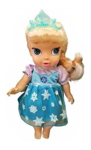 Boneca Baby Elsa Frozen Mimo 6455