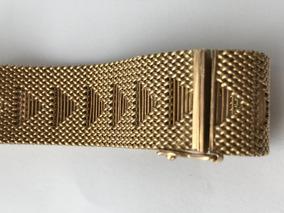 Pulseira Em Ouro Amarelo 18k-750, Peso: 44,4 Gramas