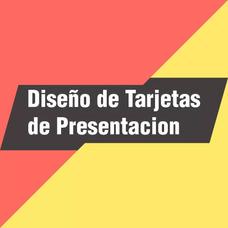 Diseño De Tarjetas De Presentacion. Tarjetas De Presentacion