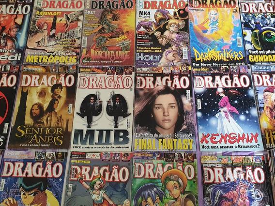 Revistas Dragão Brasil - R$15,00 Cada.