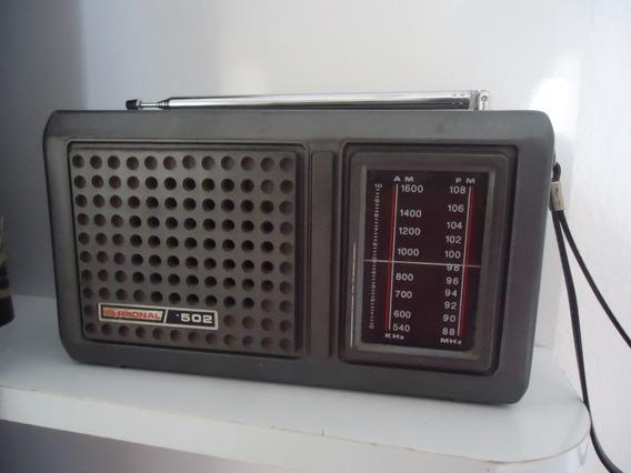 Radio Antigo Delta 2 Faixas .am. Fm Funcionando Bem.