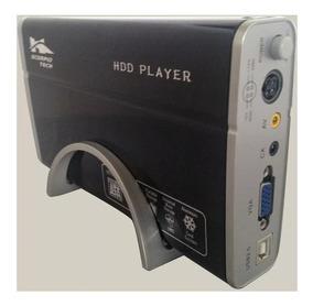 Caja Externa Disco Duro Sata Multimedia 3.5 Control Remoto