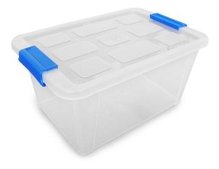 Caja Yazmin 12.5 L Almacenamiento De Plastico Hermetica