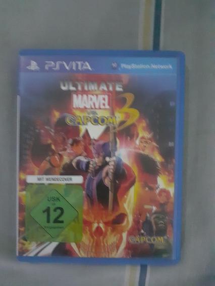 Jogo Ultimate Marvel Vs Capcom 3 Psvita