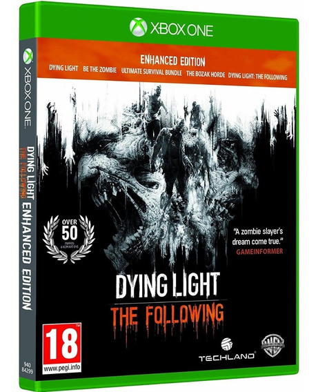 Jogo Dying Light The Following Xbox One Mídia Física Dublado