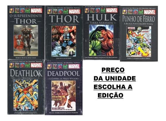 Coleção Oficial Graphic Novels Marvel Capa Preta Salvat