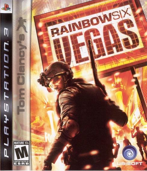 Jogo Rainbow Six Vegas Playstation 3 Ps3 Game Mídia Física