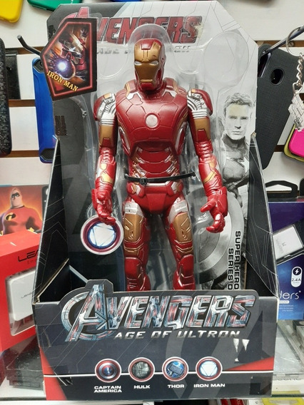 Muñeco Ironman Avengers 30cm 25tuuum Sabana Grande
