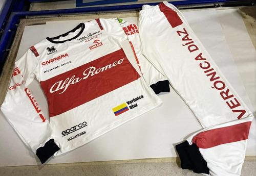 Pijamas Temáticas De Formula 1 Personalizadas