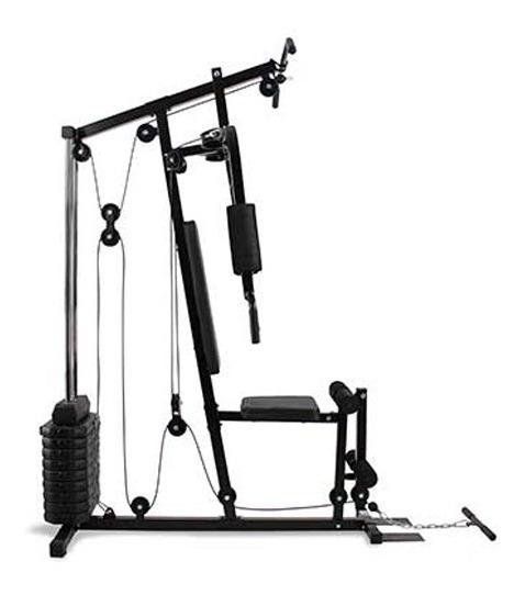 Multigimnasio Gym Multiestacion Multiejercicio Incluye 50kg