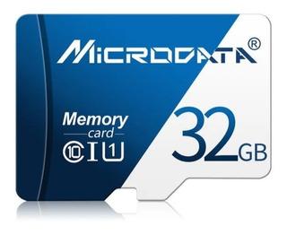 Cartão Sd 32 Gb Microdata Class 10 + Adaptador Sd.