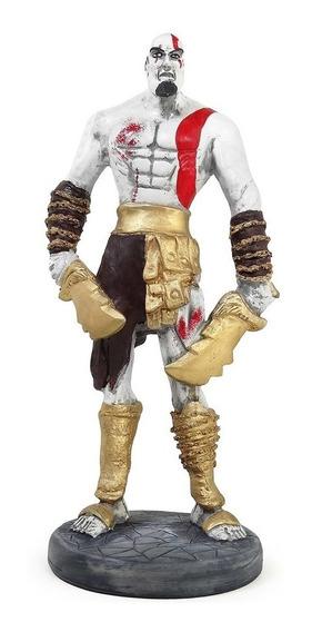 Estátua Kratos God Of War Gow Jogo Franquia