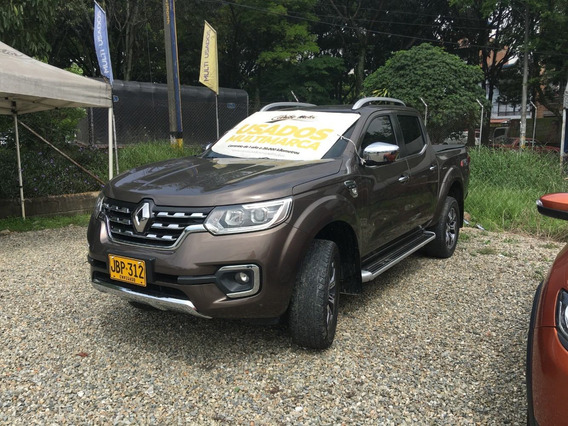 Renault Alaskan Aut 2.5cc Diesel Marron Bisonte 2017 Jbp312