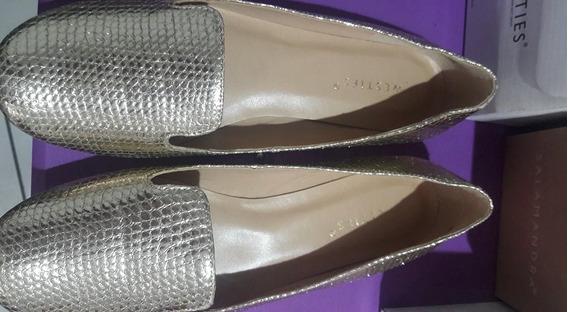 Zapatos Westies Dorados Nuevos Baratos Flats