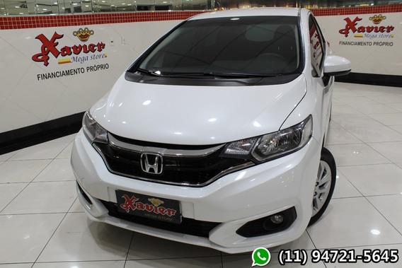 Honda Fit Lx 1.5 Aut 2018 Branco Financiamento Próprio 2498