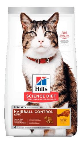 Alimento Hills Hairball Control Adulto Gato 1.6kg